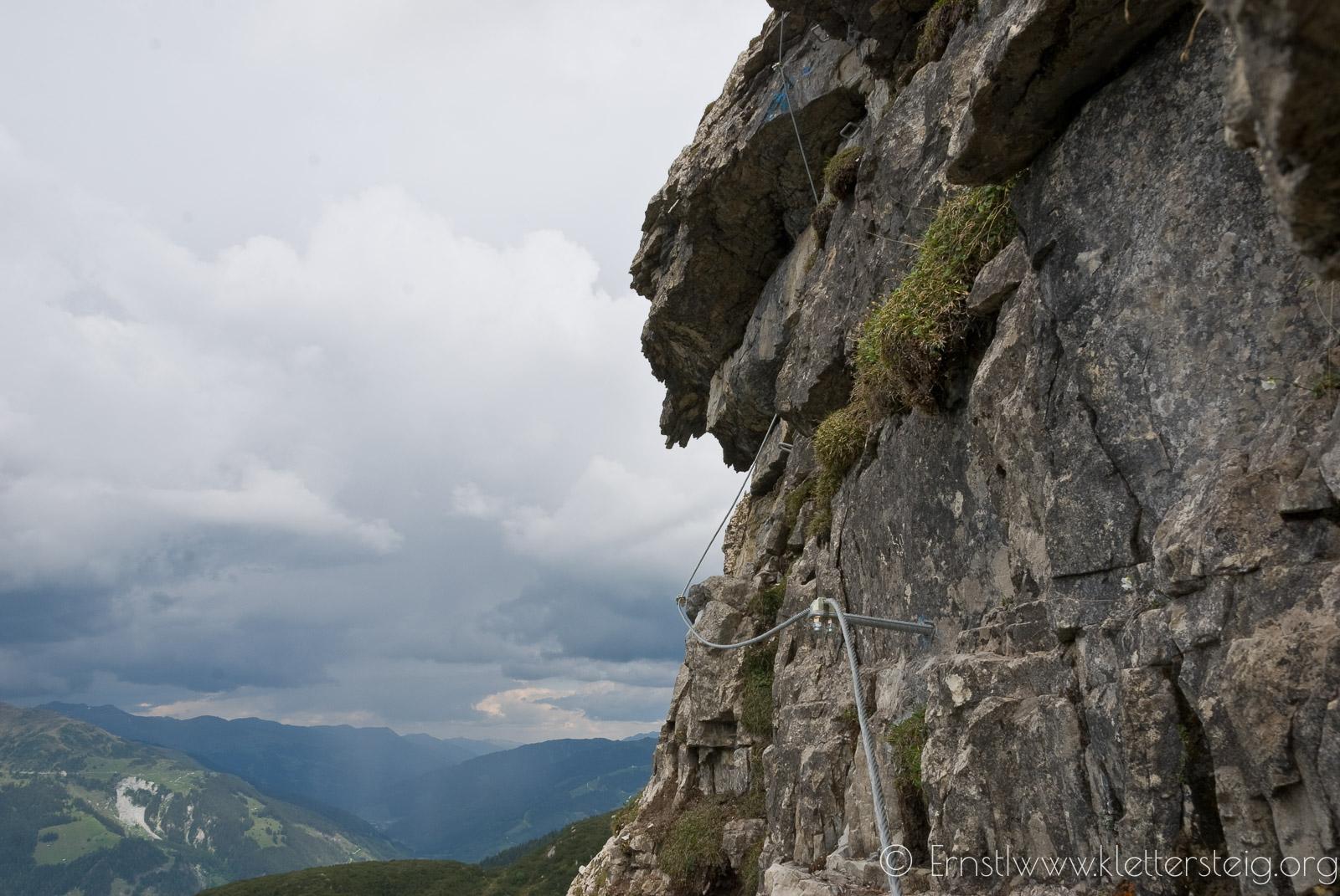 Gerlosstein Klettersteig