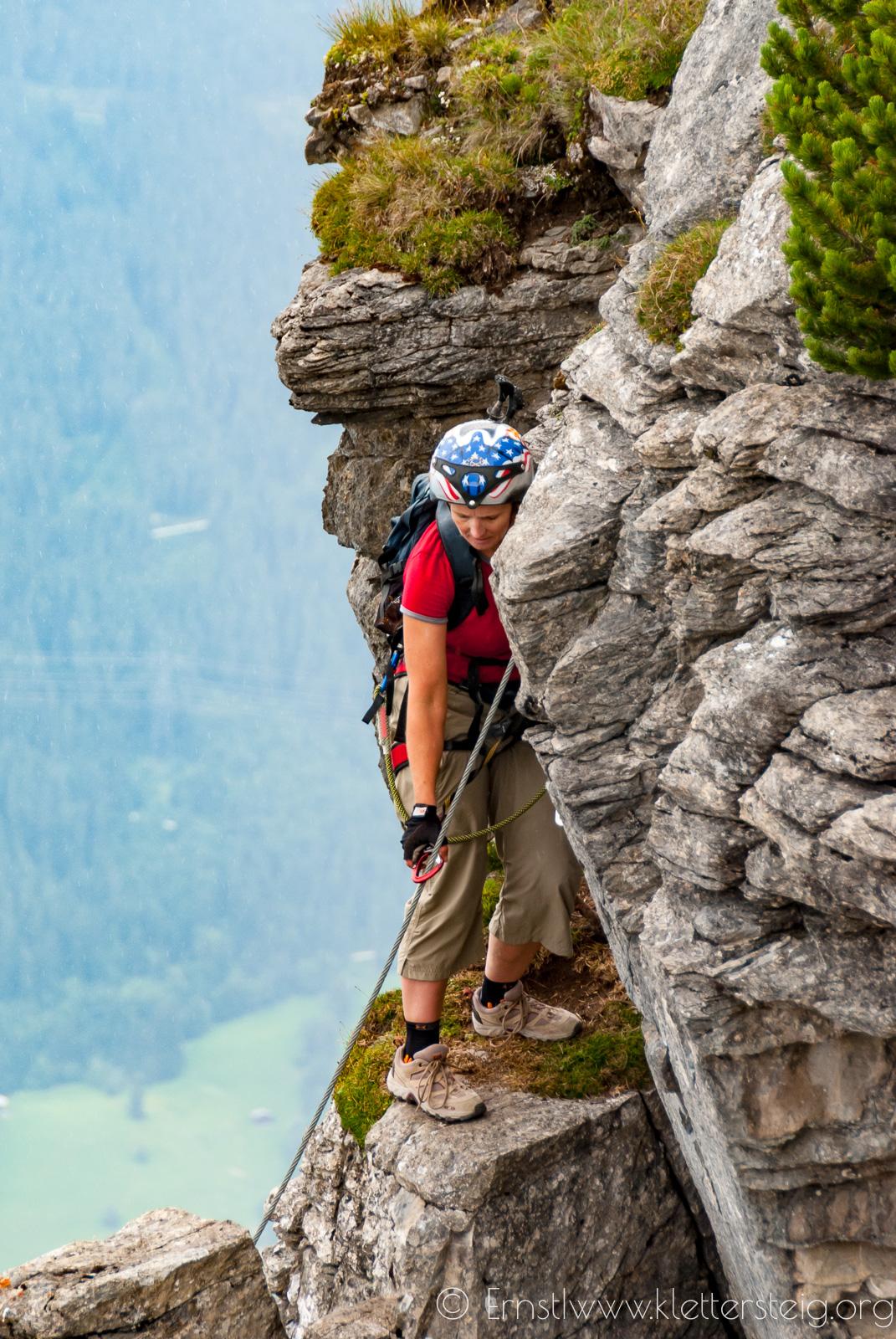 Gerlossteinwand Klettersteig